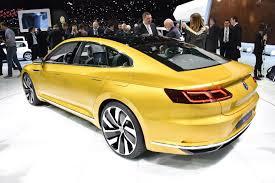 volkswagen sports car vw sport coupe concept gte it u0027s the new passat cc by car magazine