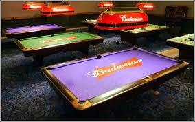 purple felt pool table purple pool table pool table felt black pool table with purple felt