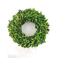 boxwood wreath preserved boxwood wreath 14 home kitchen