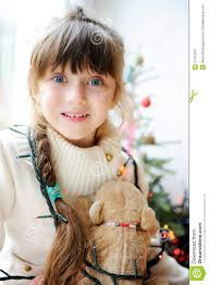 Cute Child by Cute Child Waiting For Christmas Eve Stock Photo Image