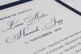 order of wedding program wedding order of service wording template what to include exles