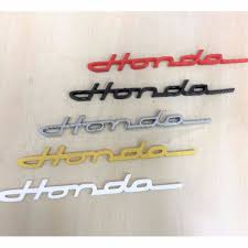 honda logo honda car symbol cursive honda emblem front grill or back logo car accessories on