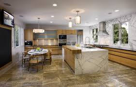 Carrara Marble Kitchen by Marble Kitchens