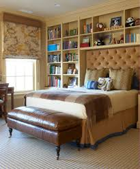 bookcase headboard kids traditional with bed pillows bedroom