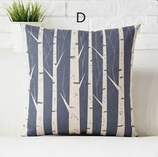 Home Decor Cushions Modern Nordic Style Deer Throw Pillows For Couch Forest Home Decor
