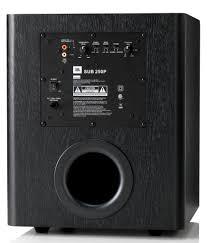 amazon com subwoofers electronics amazon com jbl sub 250p 10 inch 200 watt powered subwoofer home