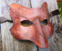 leather mask once upon a time scar fox leather mask by silvercicada on deviantart