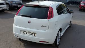used 2008 fiat grande punto to clear bargain sporting t jet 16v