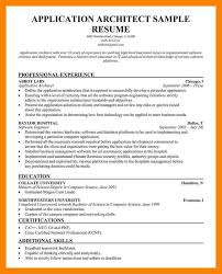 Sample Resume For Ojt Architecture by Architecture Resume Sample Solution Architect Resume Samples