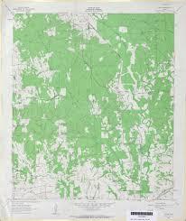 Colorado River Map Texas by