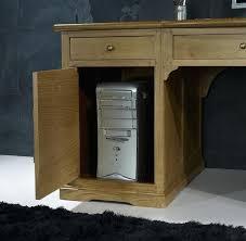 bureau informatique bois massif armoire informatique bois bureau en style meuble informatique bois