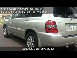 toyota highlander sales 2005 toyota highlander v6 2wd with 3rd row seat for sale i
