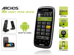 android home phone buy archos 35 smart home dect touch screen android phone tablet