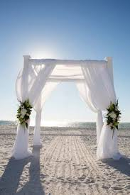 wedding arches for the bamboo wedding arch ritz at lido sarasota florida by