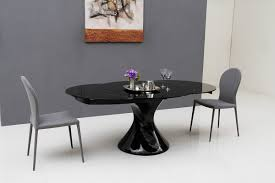 home design ellie white oval extending dining table contemporary