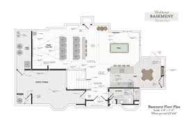 floor plans for basements finished basement floor plans 54 home floor plans with basement