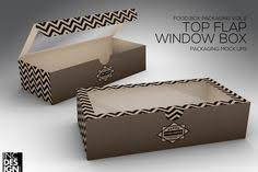 window box packaging mock up by inc design on creativemarket
