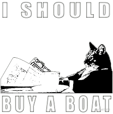 Cat Meme Boat - i should buy a boat classic cat meme v 2 photographic prints by