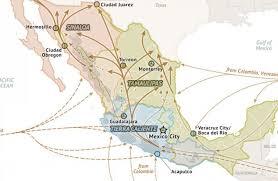 sinaloa mexico map mexico cartel map 2015 stratfor worldview