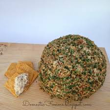 domestic femme pecan cream cheese ball