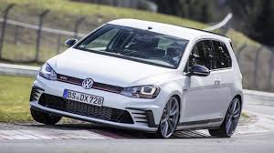 volkswagen hatch old fastest vw golf gti yet is also a u0027ring champion top gear