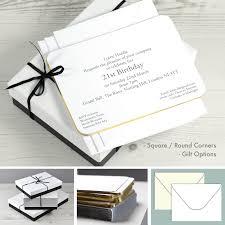 21st Birthday Invitation Cards 18th U0026 21st Birthday Party Invitations Honeytree