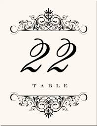 what size are table number cards accordian wedding table numbers vintage table number designs vintage