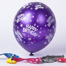 happy birthday balloon multicoloured happy birthday balloons pack of 6 only 1 49