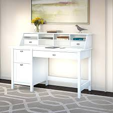 Small Writing Desk With Drawers Office Interesting Small White Desk With Drawers White Modern