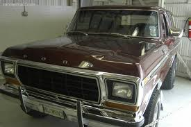 79 Ford Bronco Interior 1979 Ford Bronco Pictures History Value Research News