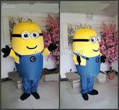 sale new despicable me minions mascot costume fancy dress