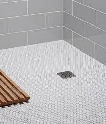 mosaic tile bathroom ideas best 25 mosaic tile bathrooms ideas on gray and white