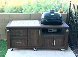 outdoor cooking prep table white grill prep table with built in cooler projects bbq prep table