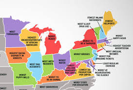 cheapest us states to live in what every us state is the worst at thrillist