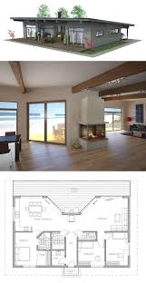 Floor Plans For Small Houses With 3 Bedrooms 121 Best Houseplans 3 Bedroom Images On Pinterest Small House