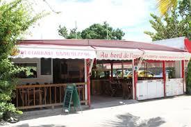 cuisine guadeloup nne au bord de l eau restaurant guadeloupe