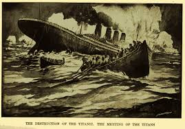 the sinking of the titanic 1912 no 1473 titanic and great eastern