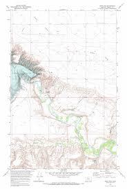 Montana Topographic Map by Tiber Dam Topographic Map Mt Usgs Topo Quad 48111c1