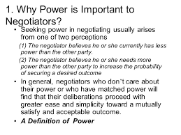 Seeking Text Negotiator Chapter 7 Finding And Using Negotiation Power Ppt