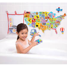 United States Map Puzzles by Alex Toys Rub A Dub Usa Map In The Tub Walmart Com