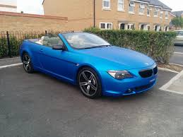 2005 bmw 645 ci auto convertible arlon matte satin blue in west