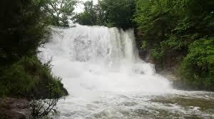 Kansas waterfalls images Geary state lake kansas waterfall jpg