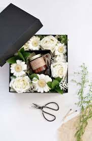 floral gift box diy flower gift box burkatron
