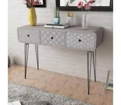 modern console table with drawers modern console table with drawers patterned side cabinet table