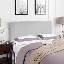 Bedroom Ideas With Gray Headboard Modway Region Queen Upholstered Headboard Multiple Colors
