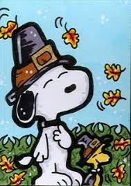snoopy woodstock thanksgiving by cassiej787 on deviantart