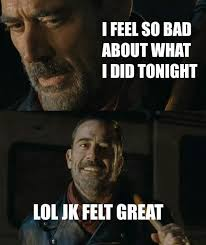 The Walking Dead Meme - negan on the walking dead all the memes you need to see heavy com