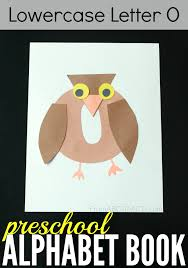 preschool alphabet book lowercase letter o from abcs to acts