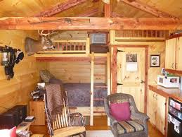 trophy amish cabins llc 10 x 20 bunkhouse cabinshown in the pictures of cabins interior trophy amish cabins llc interiors