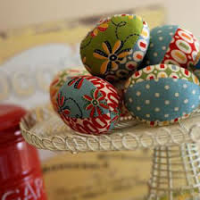 Easter Egg Decorating At Home by Easter Decorations Fabric Easter Eggs With Easy Free Pattern